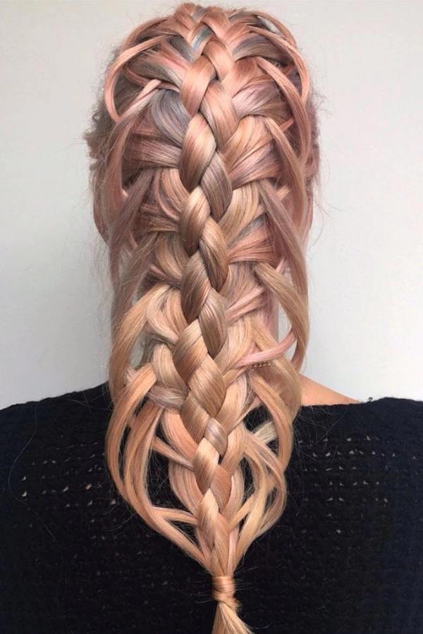 Loops Like Braids Hairstyle