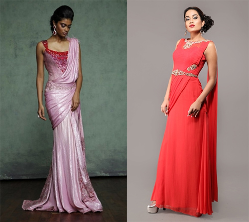Ethereal Saree Gowns