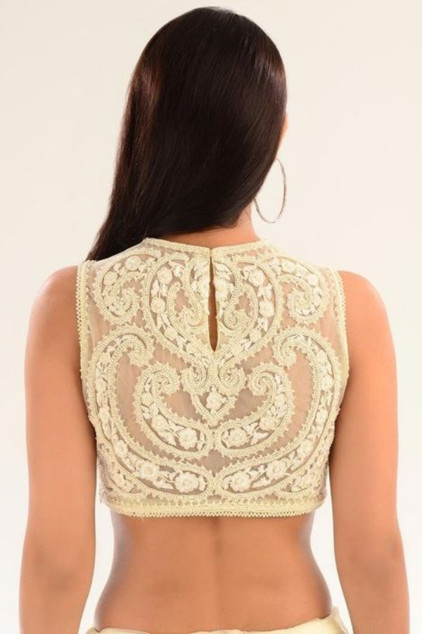 Lace Work Blouse