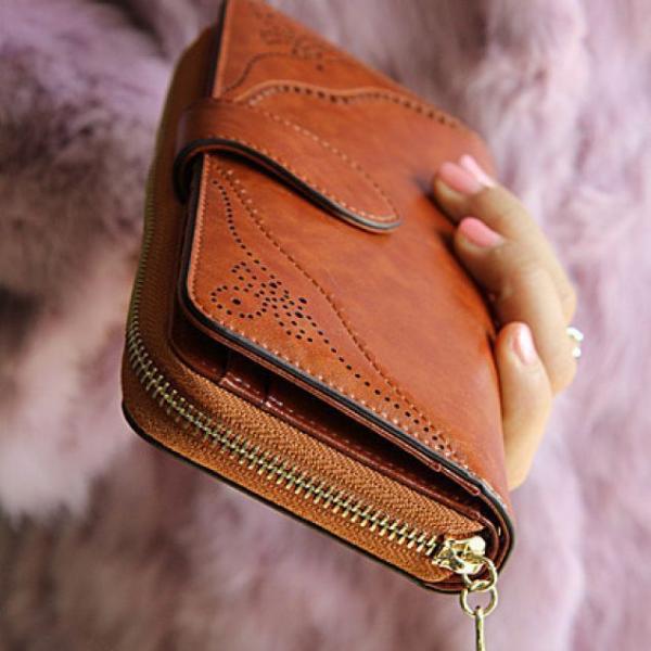 Classic Zipper Wallet