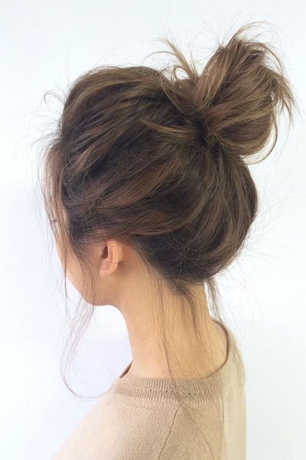 Love With Messy Buns