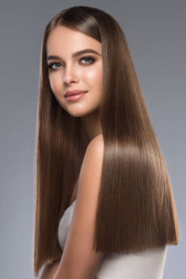 Straight Hair Hairstyle