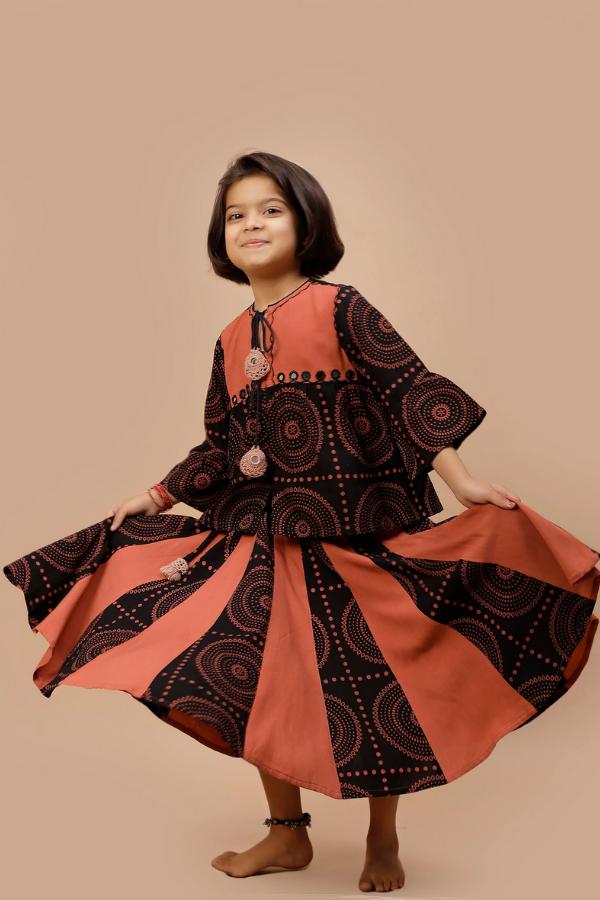 Gujrati Style Dress