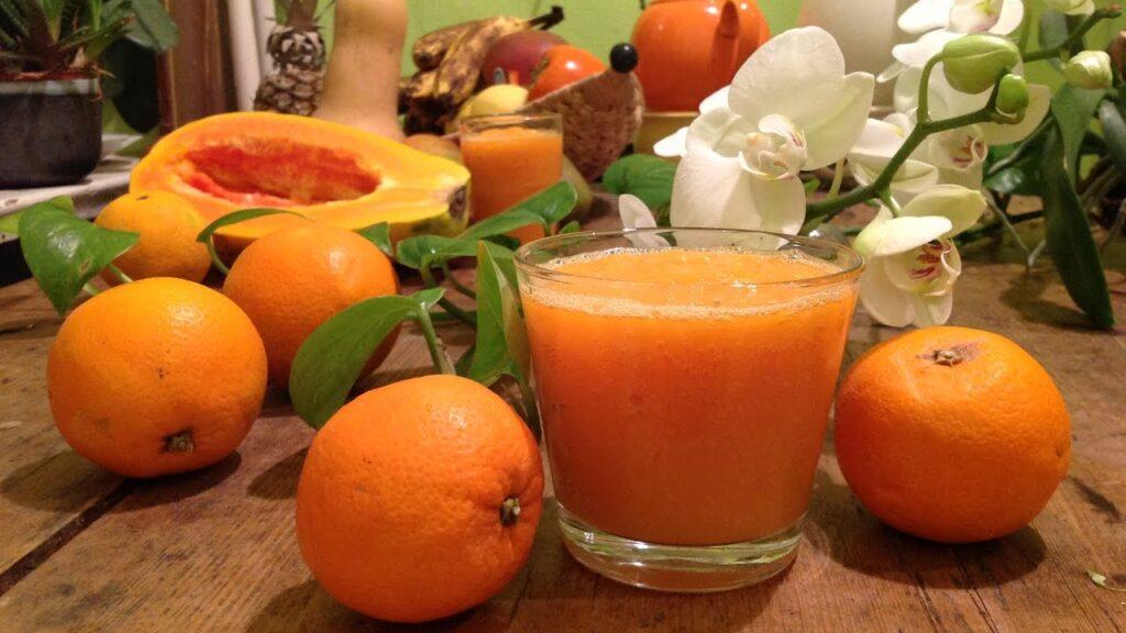 Papaya + Orange Juice
