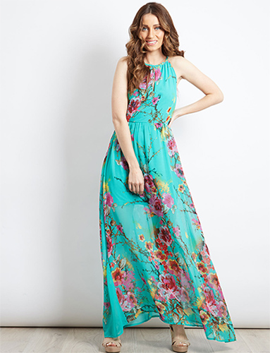 Traditional Maxi Dress