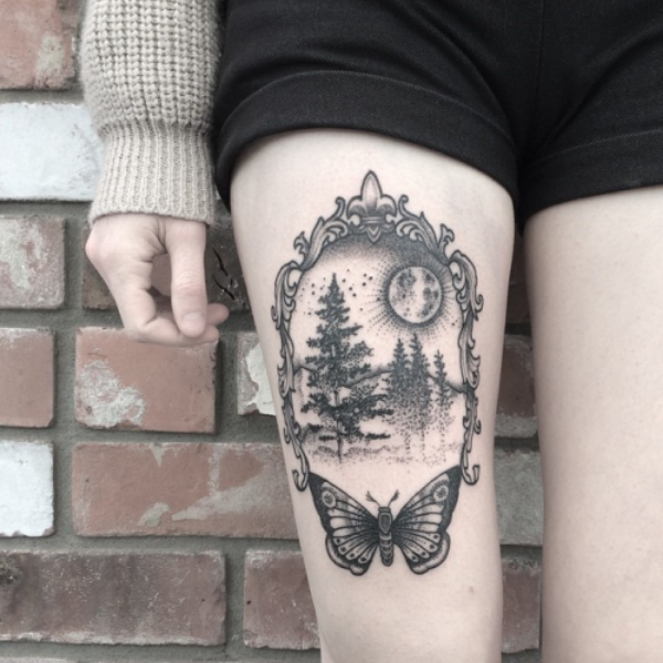 nature tattoo designs
