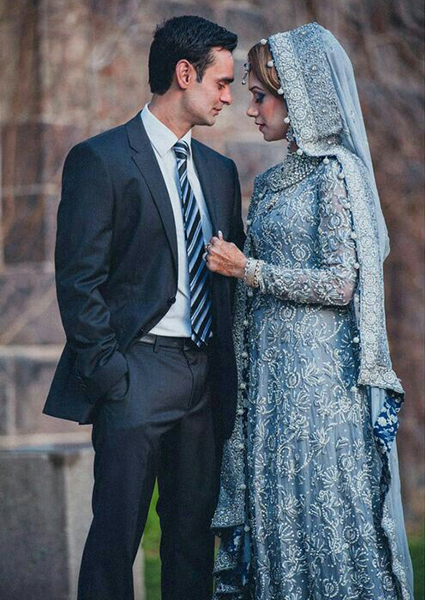 Traditional Bridal Teal Suit