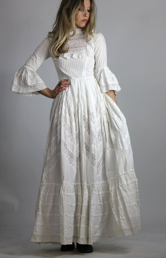 Victorian Style Maxi Dress