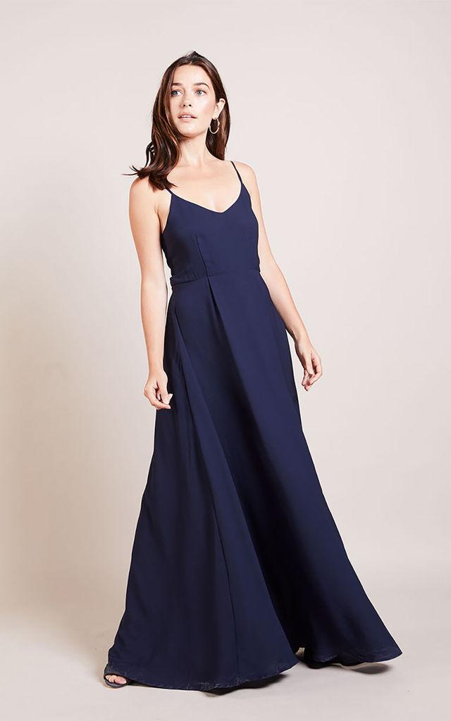Strap Cotton Maxi Dress